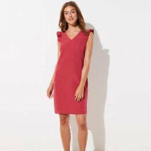 NWT Loft Flutter Sleeve Dress